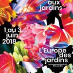 affiche rendez-vous aux Jardin 2018 Aux Arts