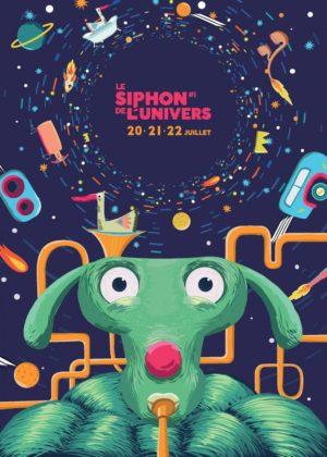 affiche festival le siphon de l'univers sur aux arts