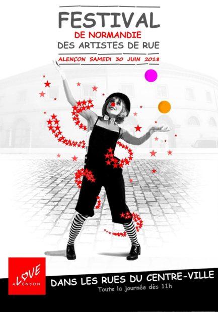 dépliant festival à Alençon le 30 juin