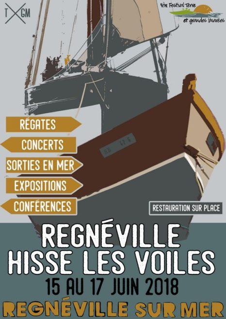 Visuel Regnéville hisse les voiles sur aux arts
