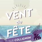 Affiche vent de fête Collignon sur aux arts