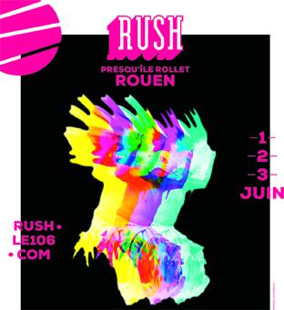Affiche festival rush 2018 Auxarts