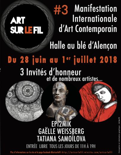 Visuel d'Art sur le fil à Alençon sur aux arts