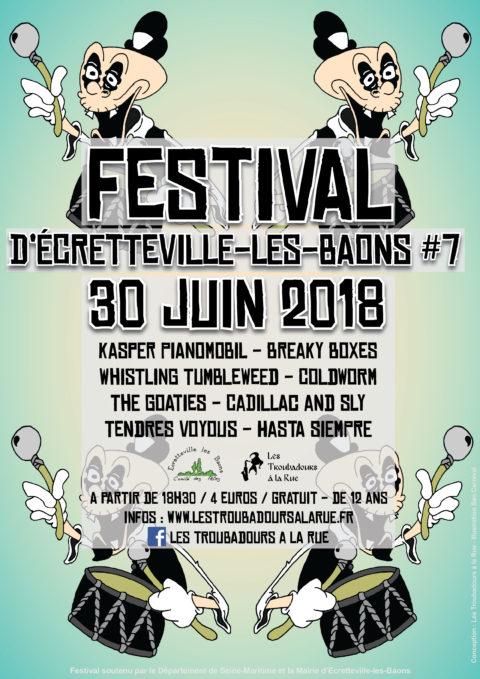 Festival Troubadours à la rue 2018