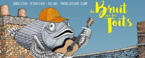 festival du bruit sur les toits à Fécamp sur aux arts